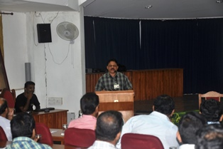 CAPACITY BUILDING TRG PROGRAM AT  Parambikulam TR - Nov 2013