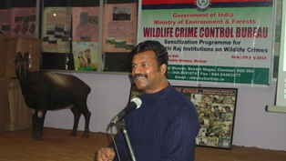 PRI SENSITIZATION PROGRAM AT ERAVIKULAM NP, KERALA ON 09.07.2014
