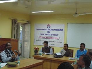 Capacity Building TP at Pinjore