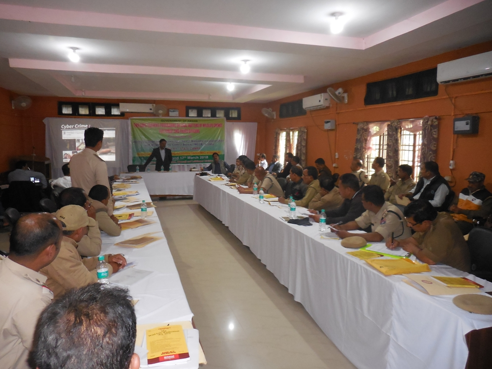 Capacity Building Training Program for Forest and Police officers organized by WCCB  ER