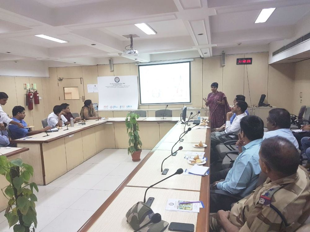 Sensitization Program conducted for the Customs officials at ICD Tughlakabad  New Delhi by WCCB  NR
