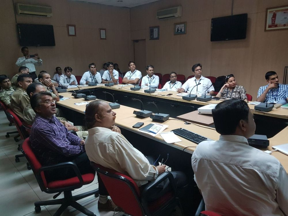 Sensitization Program conducted for the Customs  CISF  DIAL  CSS of CELEBI and DCS officials