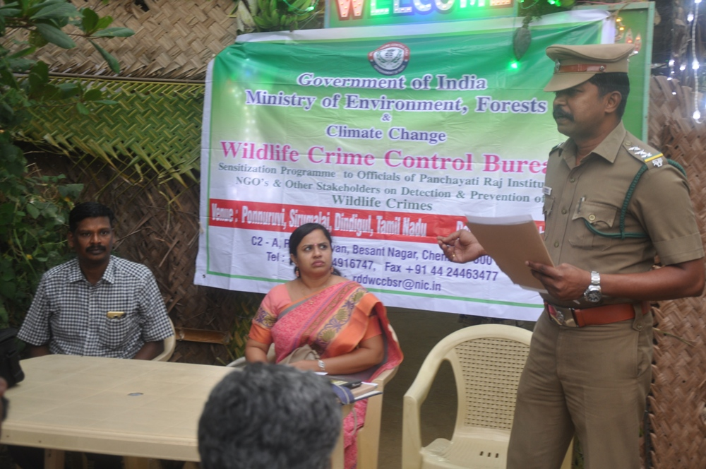Sensitization Program was conducted for members of Panchayati Raj Institutions at the Dindigul  TN