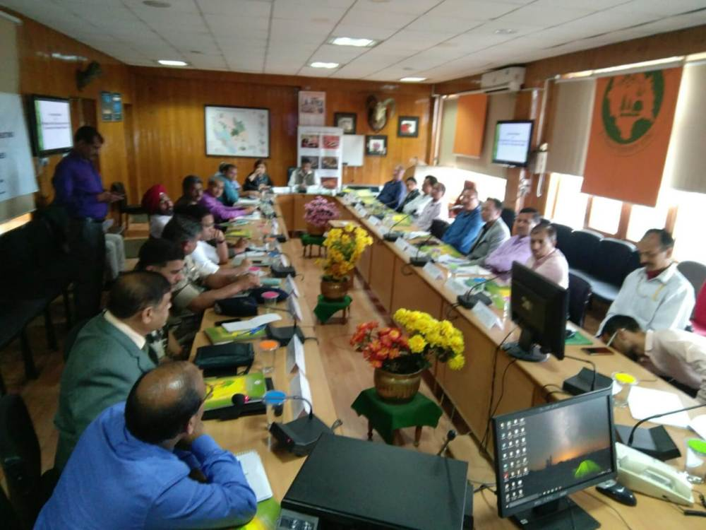 Inter-agency Coordination Meeting at Shimla